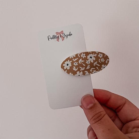Petites fleurs moutarde  clipclap