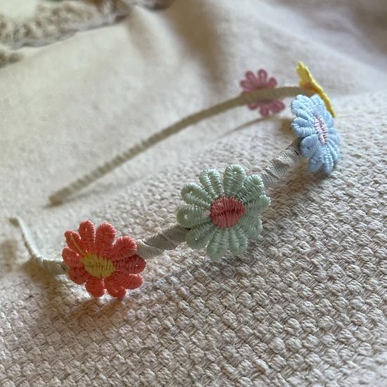 Serre-tête fleurs