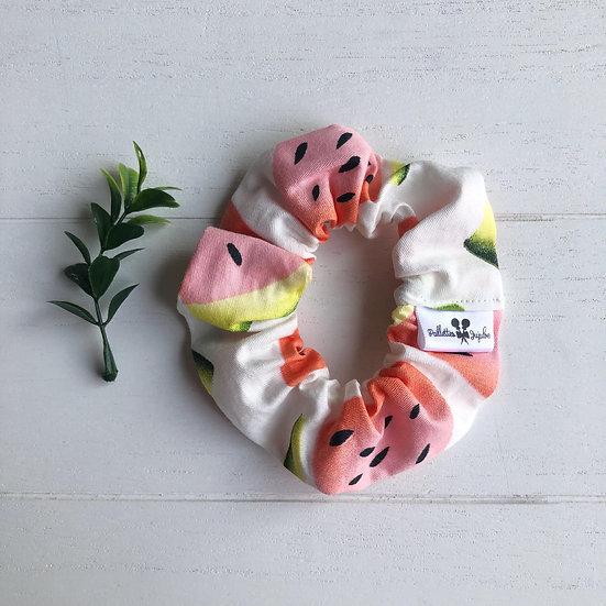 Chouchou motifs melon d'eau