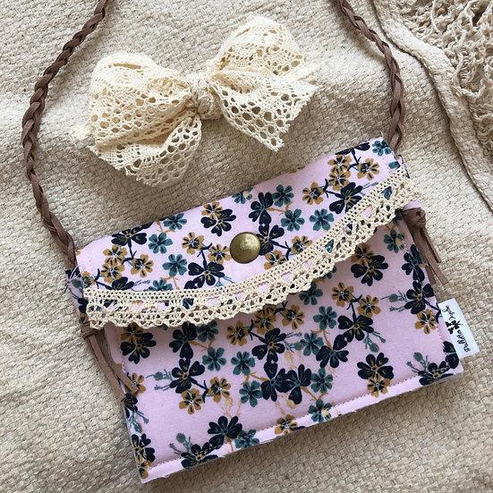 sac à main fleurit