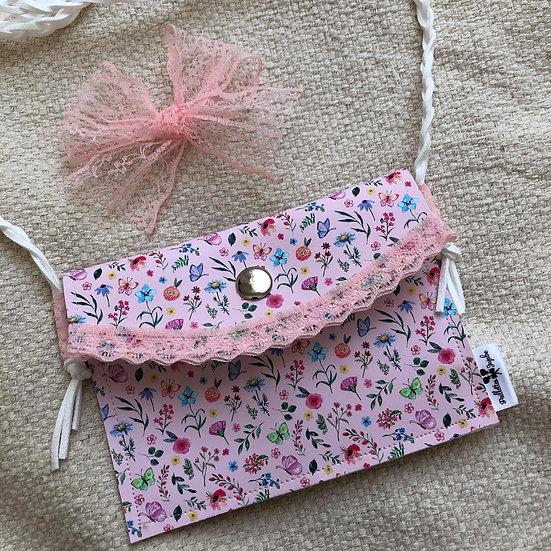 sac à main fleurs