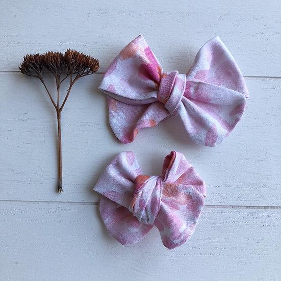 Boucle fleurs aquarelle