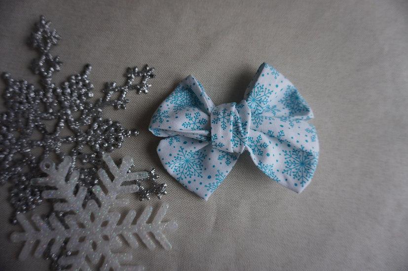 pinwheel flocons turquoise