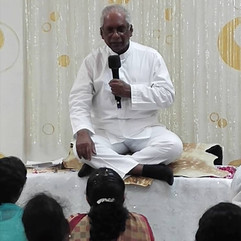 Group Meditation With Guru