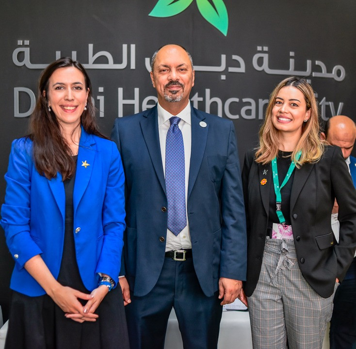 Executive Director of Dubai Healthcare City Authority (DHCA) and the GetBEE team
