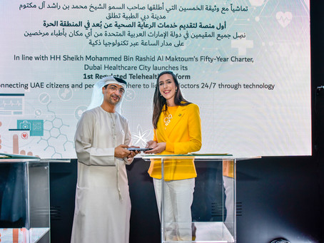 GetBEE and DHCC Innovate HealthCare Services in Dubai