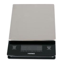 HARIO V60 nerezová digitálna váha so stopkami