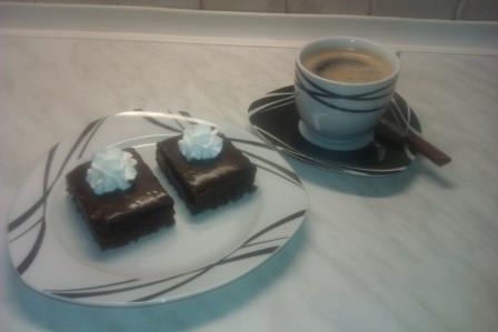 Výborný kávový koláč