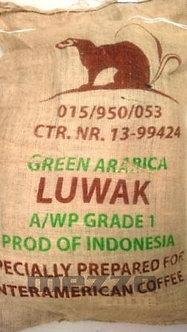 Indonesia Kopi Luwak - cibetková káva