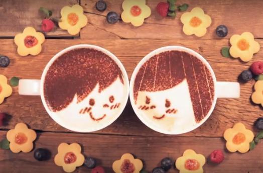 Láska v káve alebo krátky video príbeh o láske