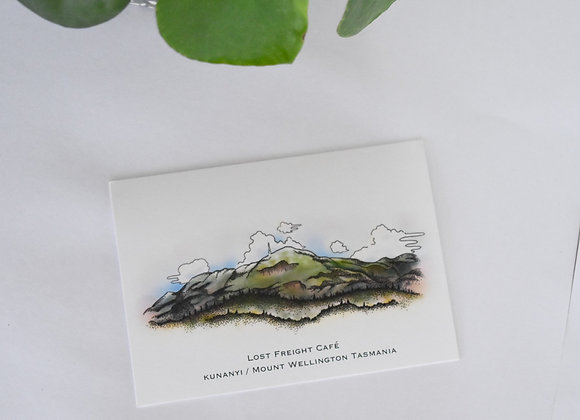 kunanyi/ Mount Wellington Postcard