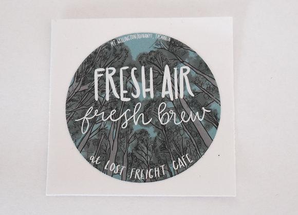 Fresh Brews Sticker