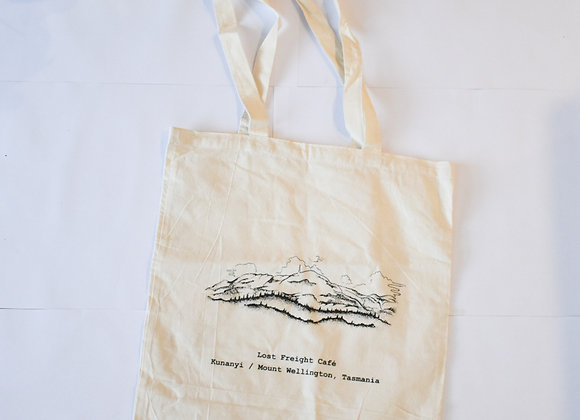 Mt Wellington tote bag
