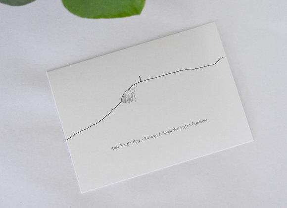 kunanyi/ Mount Wellington Postcard