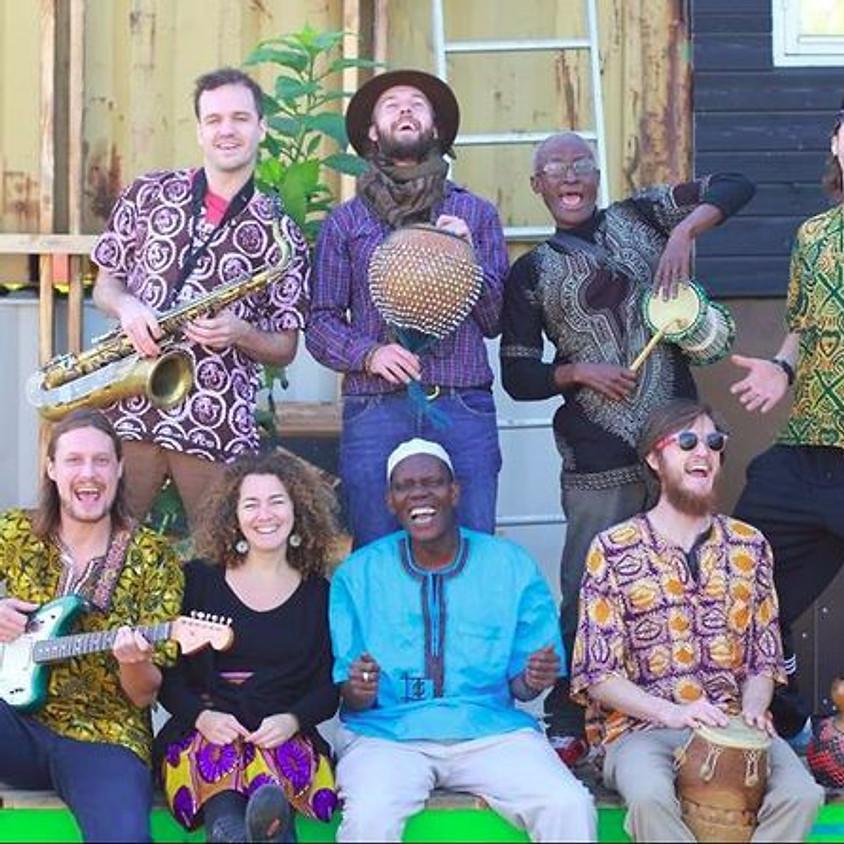 Koncert med African Connection