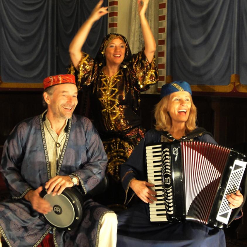 Højsang og dansefortælling med Klezmerduo