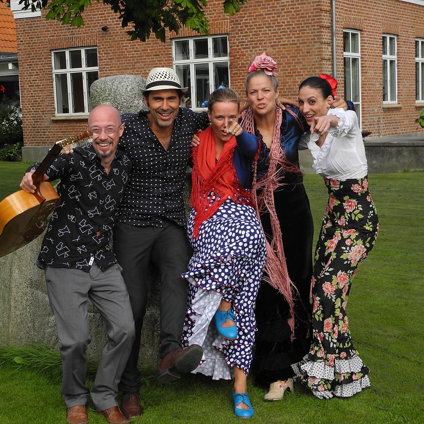 Foredrag om det skabende menneske og flamencoshow