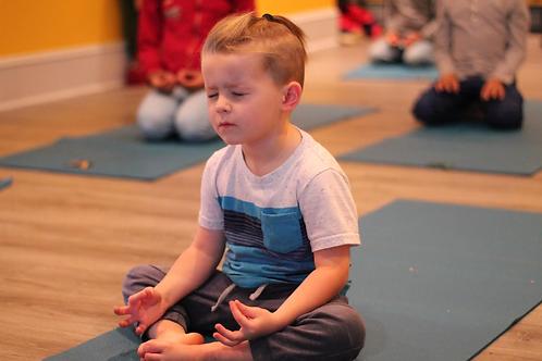Kidding Around Yoga: Ages 4-8