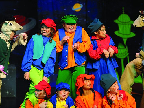 Theater, Backstage, and Bells, Boomwhackers, Piano, and More: Combo Packet