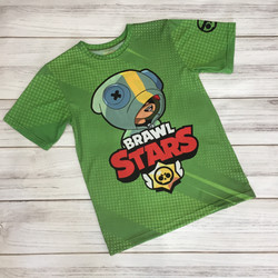 3Д футболка из спортивного трикотажа