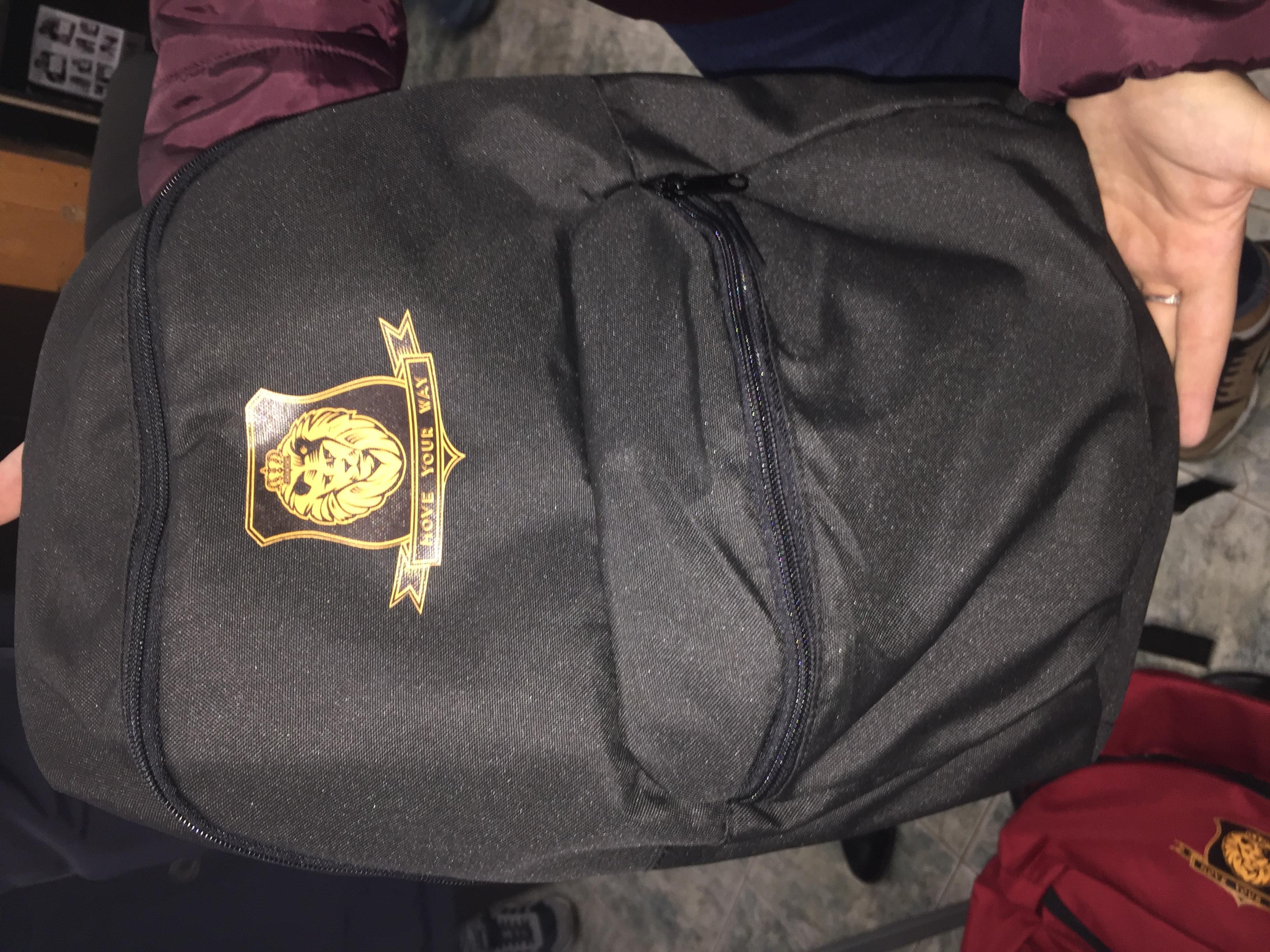 Рукзак с логотипом