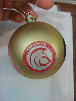 Елочный шар с логотипом