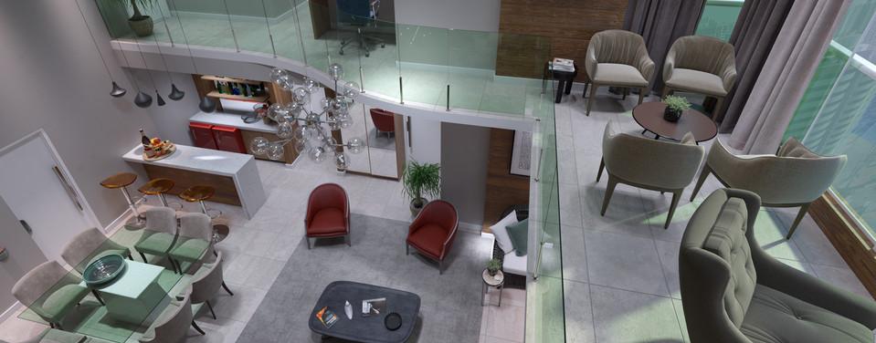 Visão Duplex - Pavimento Superior