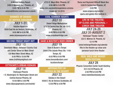 Things to do in July in Phoenix