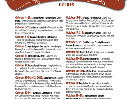 Things to Do in October and Pumpkin Patches