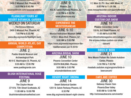 Things to do in June in Phoenix