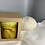Thumbnail: Yellow green candle - Cotton and Iris scent