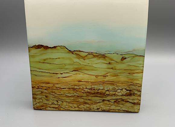 SOLD Montana road trip #2 - Original art in matte resin