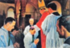 Ordinato sacerdote il 21 maggio 1864 dal