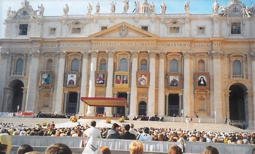 Beatificazione 04 novembre 2001