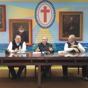 Monsignor Corradini, don Ettore Capra e dott. Pietro La Rosa