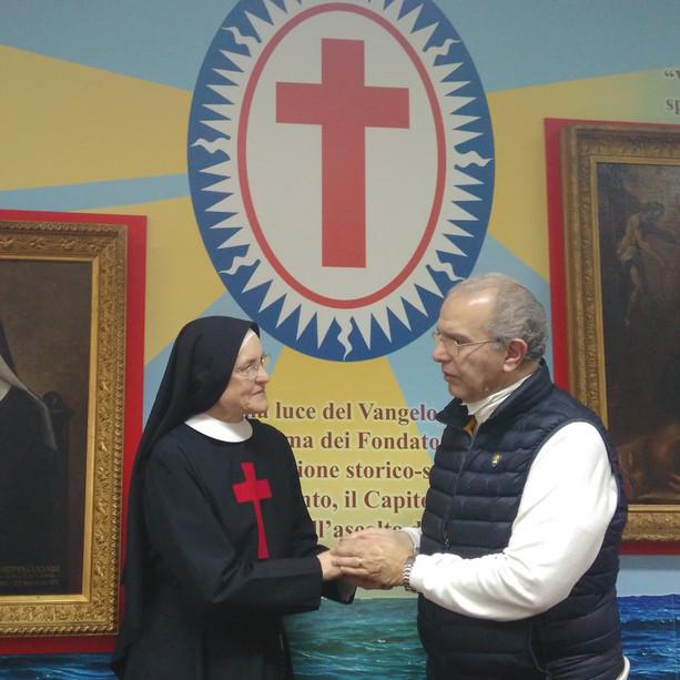 Madre Zelia e il dott. Pietro La Rosa