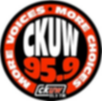 Logo for CKUW 95.9 More Voices More Choices