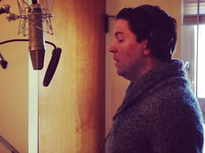 "Kevin Duda recording ""Jake's Soliloquy"" from Show Choir! - The Musical"