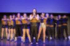 Full cast of Show Choir! - The Musica at Winnipeg Studio Theatre 2016