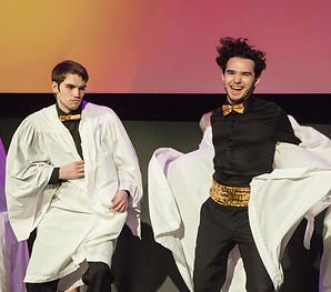 "The Cast of Show Choir! - The Musical at Winnipeg Studio Theatre performs ""Symphonic Sensations"""
