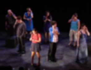 "2010 New York Musical Theatre Festival production performing ""A Second Chance"" with Don Whitmore, Mick Bonde, Kyle G Bailey, Hannah Corrigan, Jenn Habeck, Shira Elias, John Farchione, Kara DeYoe Curtis, Amy Linden, Leigh Ellen Caudill"