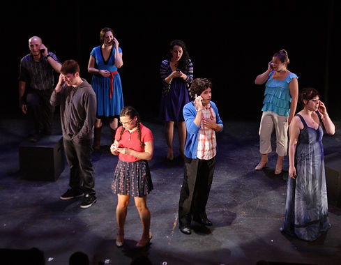 "2010 New York Musical Theatre Festival production performing ""A Second Chance"" with Don Whitmore, Mick Bonde, Kyle G Bailey, Hannah Corrigan, Jenn Habeck, Shira Elias, John Farchione, Kara DeYoe Curtis, Amy Linden, Leigh Ellen Caudill"
