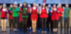 "The Cast of Show Choir! - The Musical at Winnipeg Studio Theatre performs ""Christmas Time"""
