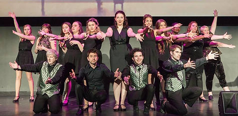 "The Cast of Show Choir! - The Musical at Winnipeg Studio Theatre performs ""Good Bye-Bye"""