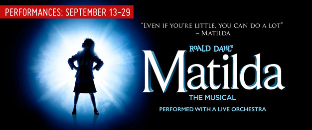 Matilda the Musical Opens Sept  13th at Area Stage!