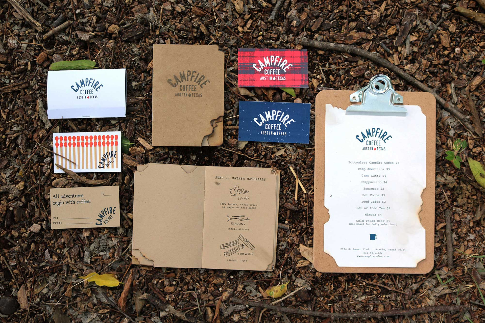 Branding Design / Campfire Coffee