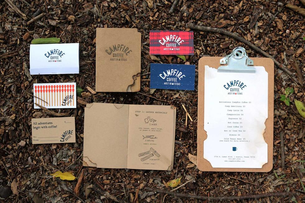 Branding Design / Campfire Coffee