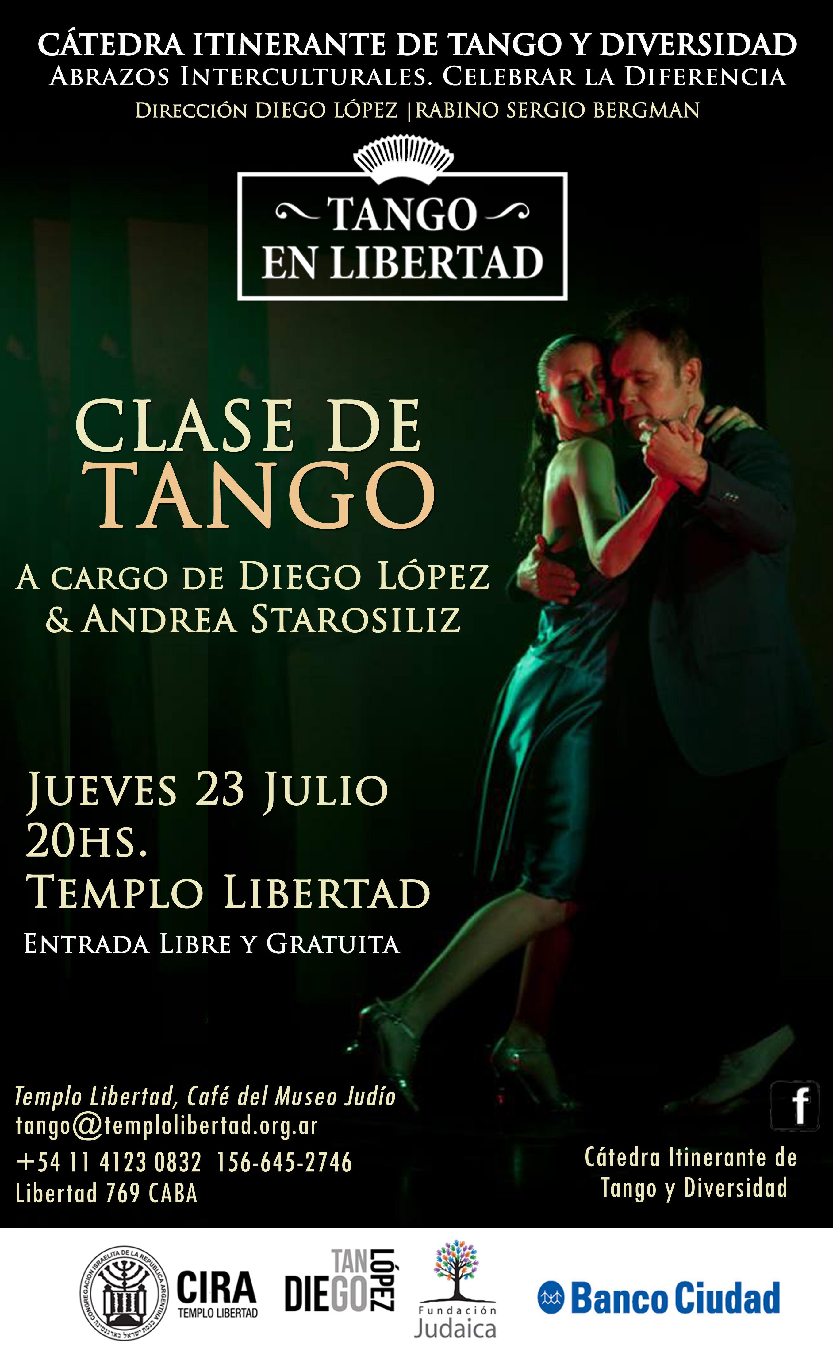 Clase de tango en libertad 23-7