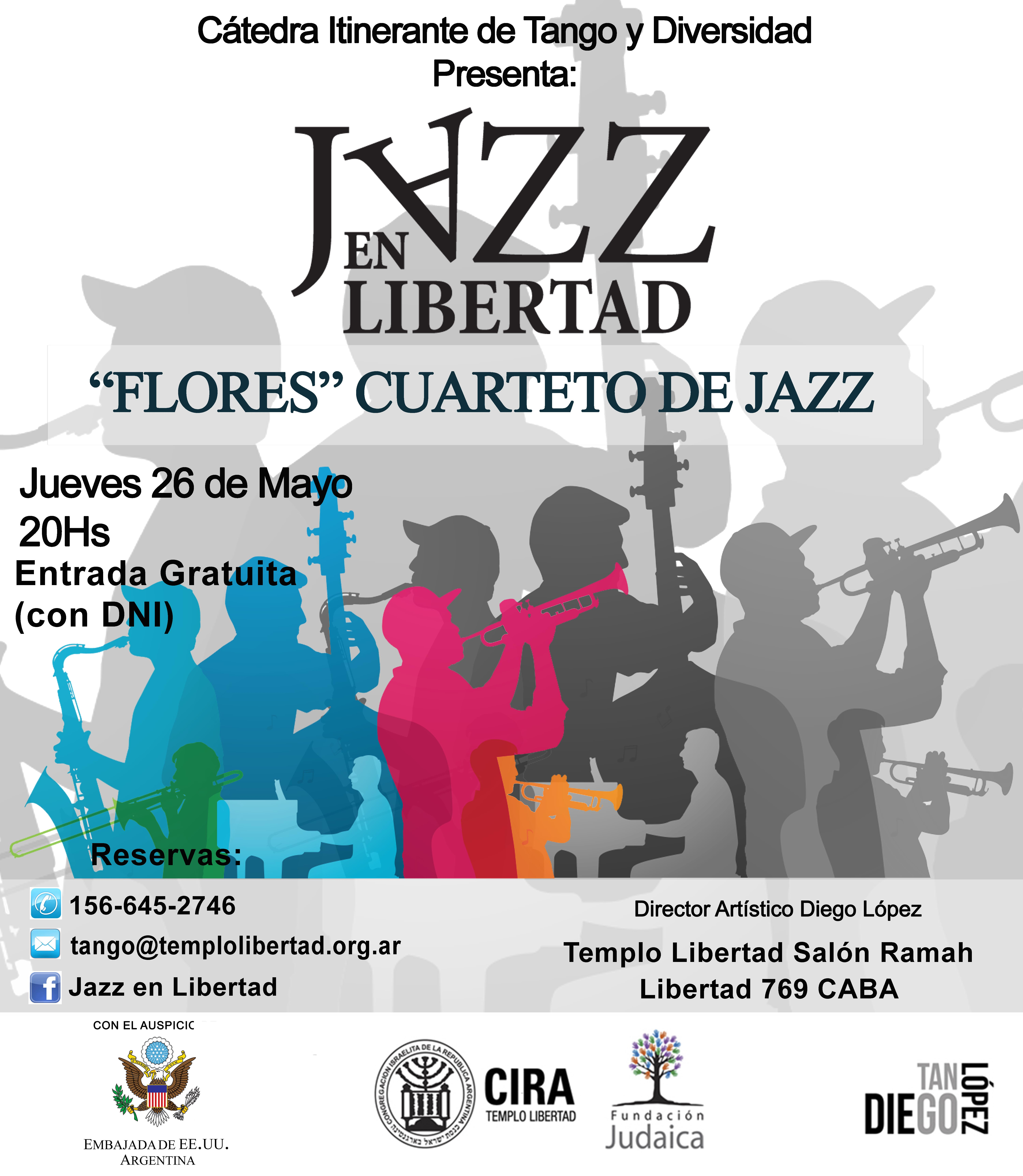 Jazz en Libertad Jueves 26 de Mayo