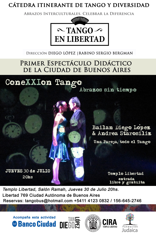 coneXXIon Tango jueves 30 julio